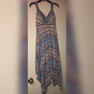 American Rag Watercolor Maxi Dress